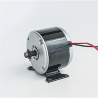 MY1016 250W 300W DC 12/24/36V 2750rpm high speed brush motor ,brush motor for electric tricycle, Scooter motor, sprocket, pully