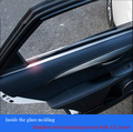 Дверь из нержавеющей стали украшением двери свет украшения Стекла литье Подходит для Lexus NX300H NX200T СТАЙЛИНГА АВТОМОБИЛЕЙ автозапчасти
