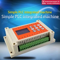 8 into 8 out of 8 more road time relay programmable controll,simple PLC AIO