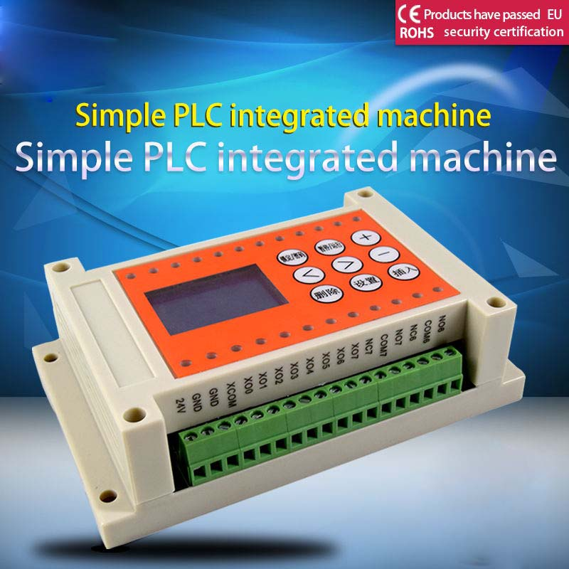 8 into 8 out of 8 more road time relay programmable controll,simple PLC AIO woodi вешалка time out