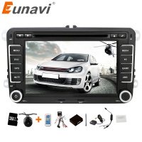 2 Din 7 Inch VW Car DVD GPS Player For VW GOLF POLO JETTA TOURAN MK5