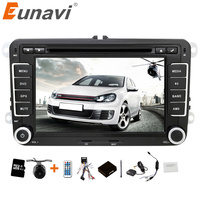 2 Din 7 Inch VW Car DVD GPS Player For VW GOLF POLO JETTA TOURAN MK5