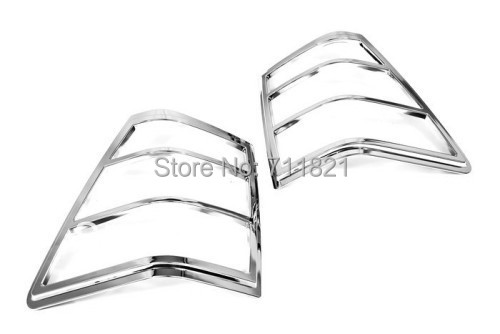 Chrome Tail Light Cover For Jeep Grand Cherokee 2005 2010