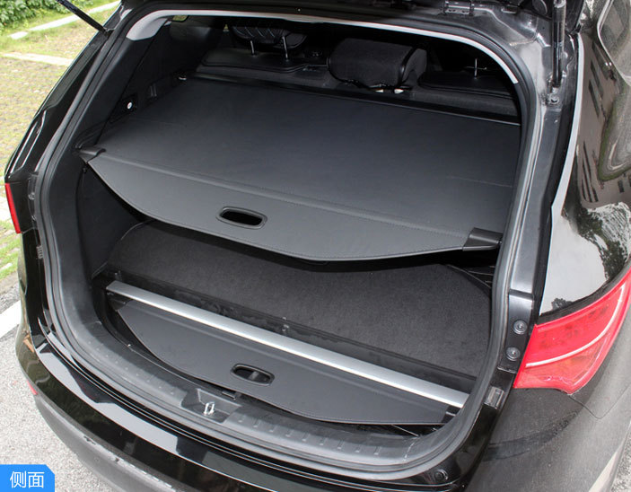 Black Car Styling Security Shield Car Rear Trunk luggage Parcel Shelf Cargo Cover For Hyundai Tucson IX35 2010 2011 2012 2014 interior black rear trunk cargo cover shield 1 pcs for kia sportage 2016 2017