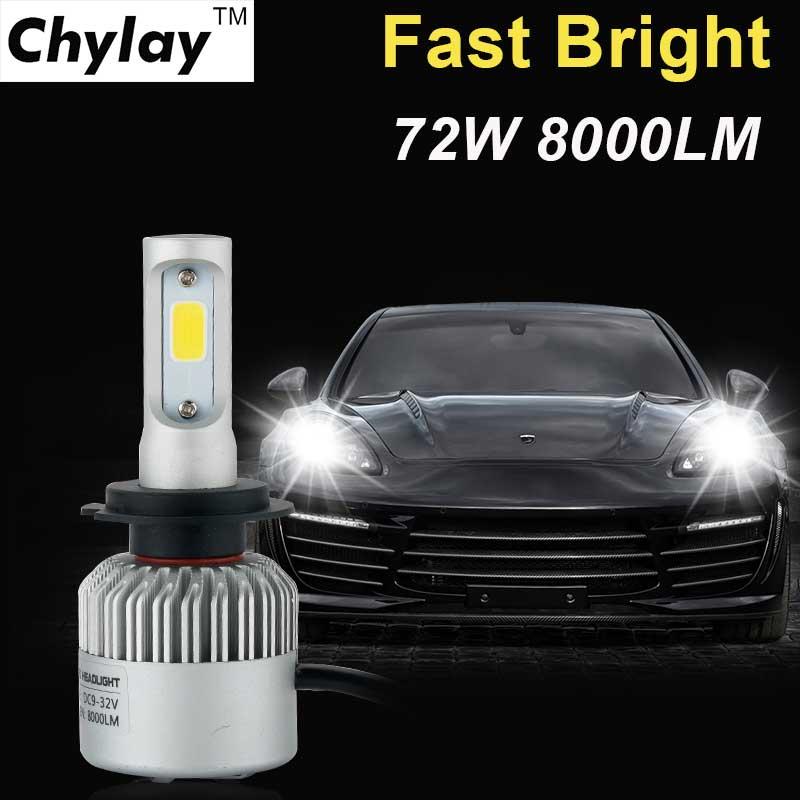 Īpaši spilgti LED automašīnu lukturu H7 spuldze 6500k Auto - Auto lukturi - Foto 4