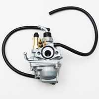 Vehemo Strimmer Lawn Trimmer Saw Carb Carburettor for 43/49cc Engine  Replacement