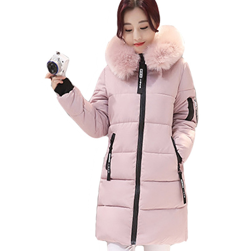 Hot Winter Jacket Women 2018 Solid Winter And Autumn Wear High Quality Parkas Winter Jackets Outwear Women Long Coats