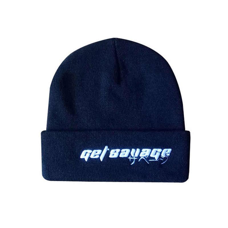 c34b2b946f16b ... Customized Winter Hats with Pom Pom Ball Custom Embroidery Tag LOGO  Texts Solid Skullies Adult Men ...
