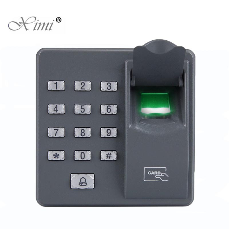 Dustproof Fingerprint Access Control Reader Replace X7 ZK X6 Fingerprint Standalone Access Control System With RFID Card Reader visconti vs 489 90