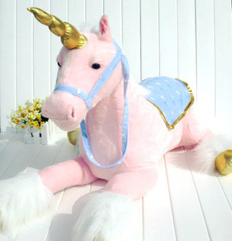 stuffed toy about 85cm lying beauty horse plush toy pink doll high quality goods birthday gift b0653
