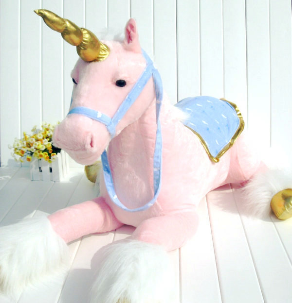 stuffed toy about 85cm lying beauty horse plush toy white doll high quality goods birthday gift b0653
