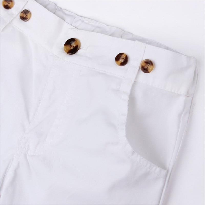 meninos Moda T shirt do Terno + Bib Conjunto macacão 2 peças letra do  alfabeto T camisa roupa Dos Miúdos das crianças calções cinta definir Livre  navio 06212fa0c1c89