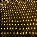 Рождество! 2x3 м гирлянды светодиодные Рождественские огни наружные украшения сетчатые гирлянды штепсельная вилка EU/US Праздничная гирлянда