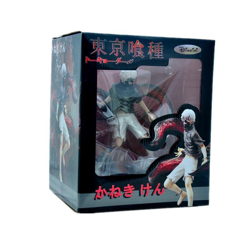 ФОТО Kotobukiya Limited Edition of Collectibles Gift Tokyo Ghoul Action Figure Anime Mask Ken Kaneki Melanism Model Toy 22cm