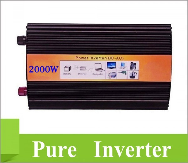 цена на 2000W 24VDC 110V/120V/220V/230VAC 50Hz/60Hz Peak Power 4000W Off-grid Pure Sine Wave Solar Inverter or Wind Inverter