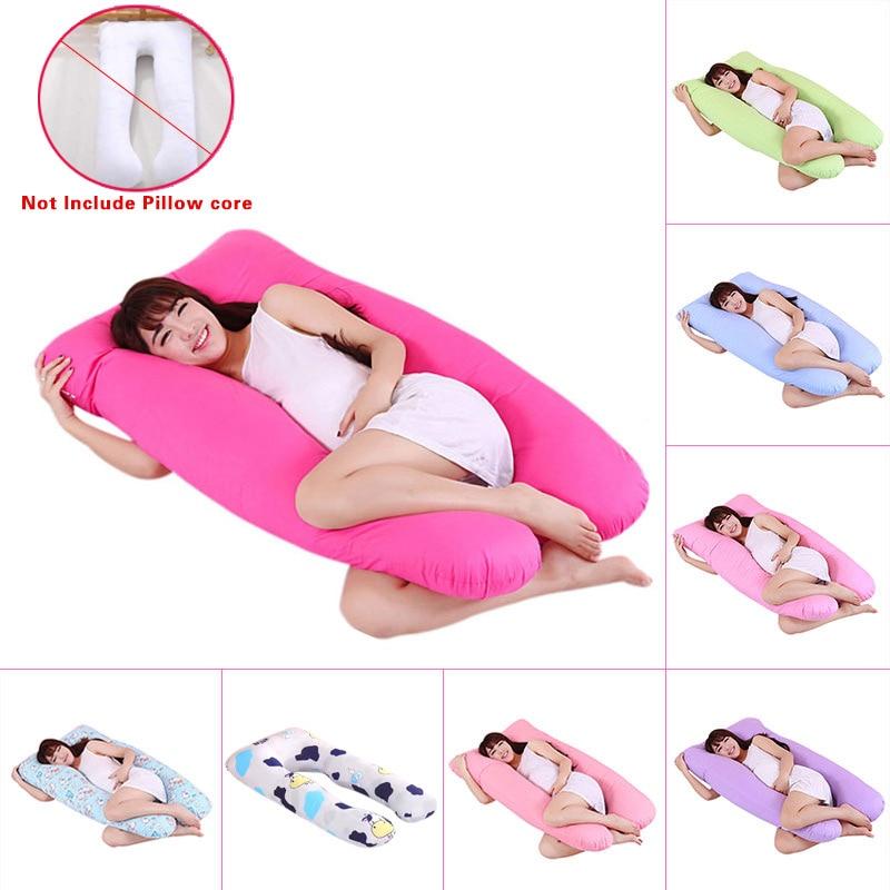 New Maternity Pregnancy Boyfriend Arm Body Sleeping Pillow Covers Sleep U Shape FP8