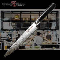Damascus Kitchen Knife 5.9 Inch Utility Knife Japanese vg10 Damascus Steel Kitchen Knives Chef Cooking Tools 67 layers Stainles