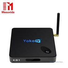Mesuvida yokatv KB1 Amlogic S905X 2 ГБ 16 ГБ TV Box VS x96 Quad Core 64 бита Android 6.0 Marshmallow A53 Wi-Fi Bluetooth BT4.0