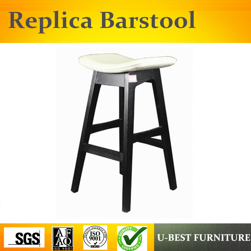Free Shipping U-BEST High Foot Bar Stool Solid Wood Stool, Tommy Shop Fashion Stool