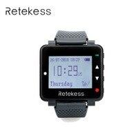Retekess часы приемник 999 канала для ресторана Беспроводной вызова официанта пейджер Системы часы приемник оборудование 433 мГц F9420A