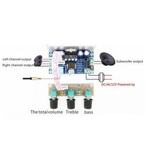 Image 3 - TDA7377 2.1 Sound Channel Amplifier Board 20W*2+30W Subwoofer Amplifier Board Whosale&Dropship