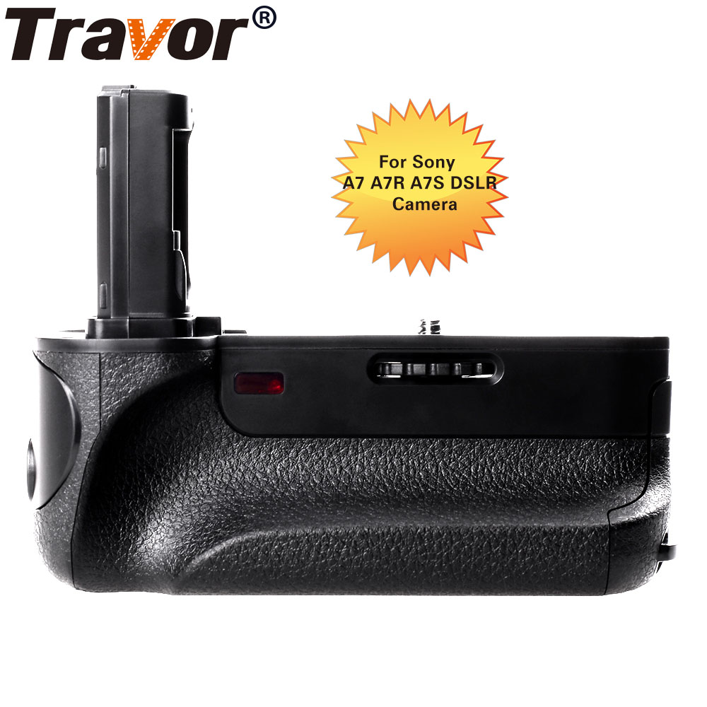Travor Battery Grip With IR Function For Sony A7 A7R A7S Replacement VG-C1EM