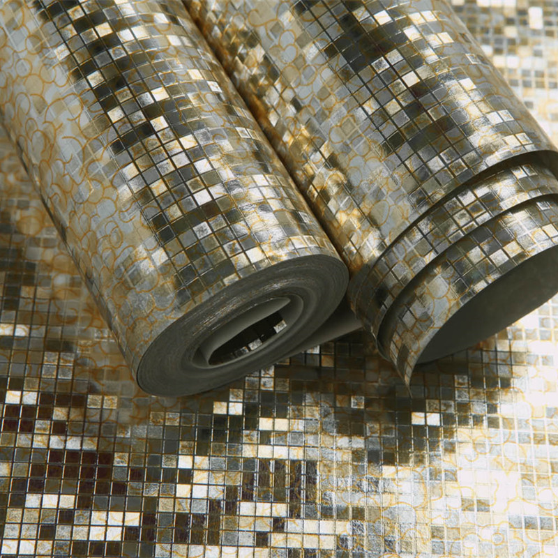 online get cheap metallic wallpaper