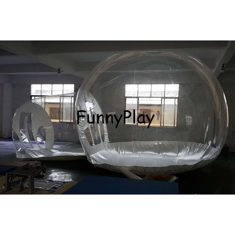 Famaily Backyard tent,inflatable show house inflatable bubble tree tents,inflatable projection dome tents,inflatable tunnel tent