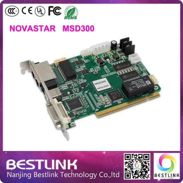 Novastar MSD300 syschronous отправки карта гамма из светодиодов контроллер карта из светодиодов экран на открытом воздухе из светодиодов рекламы электронных из светодиодов