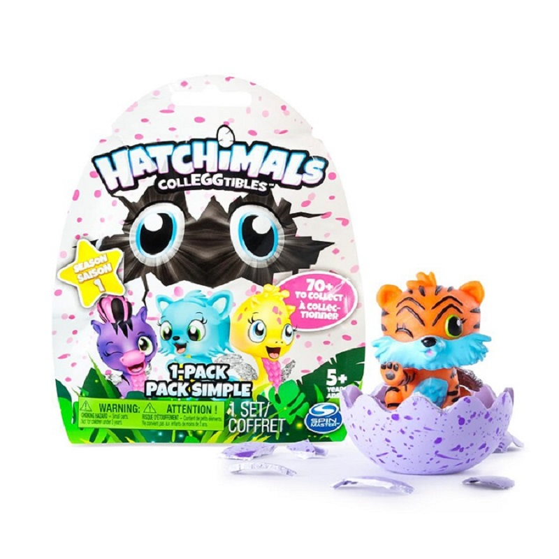 Hatchimals eggs mini magic magical egg puzzle simulation male and female hatching magical childrens toys (1pcs Random )