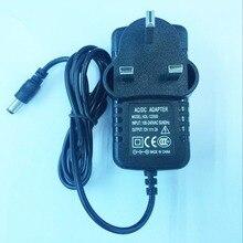 100PCS 12V2A High quality IC solution  AC 100V 240V Converter Adapter DC 12V 2A Power Supply  UK Plug DC 5.5mm x 2.1mm 2000mA