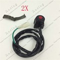 2pcs dirt bike kill switch pit bike pocket bike mini bike flameout switch Motorcycle switch Flameout switch