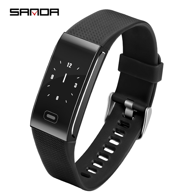 Sport Watch 2019New SANDA Smart Watch Color Screen Step Count Touch  Unisex Popular Money Android Ios Compatibility Sports Watch