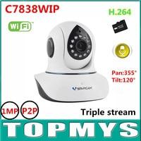 Vstarcam Wireless IP Camera C7838WIP 720P HD1MP Wifi CCTV Ip Camera Mini PT IR Day Night