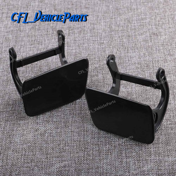 Left Or Right Headlight Washer Nozzle Cover Cap & Lever Unpainted 51117060585 51117060586 For BMW E60 E61 525i 528i 530i 2005 image
