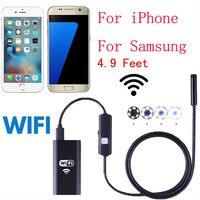 Mokingtop Wireless HD 720P Waterproof Smart WIFI Camera Inspection Endoscope For IPhone 6 6s 7 7sFor