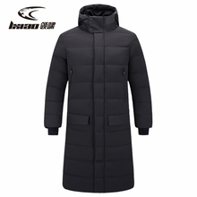 Winter Jacket Men Waterproof Thermal Long Sleeve Hiking Clothing Medium and Section Down Plus Size L-5XL