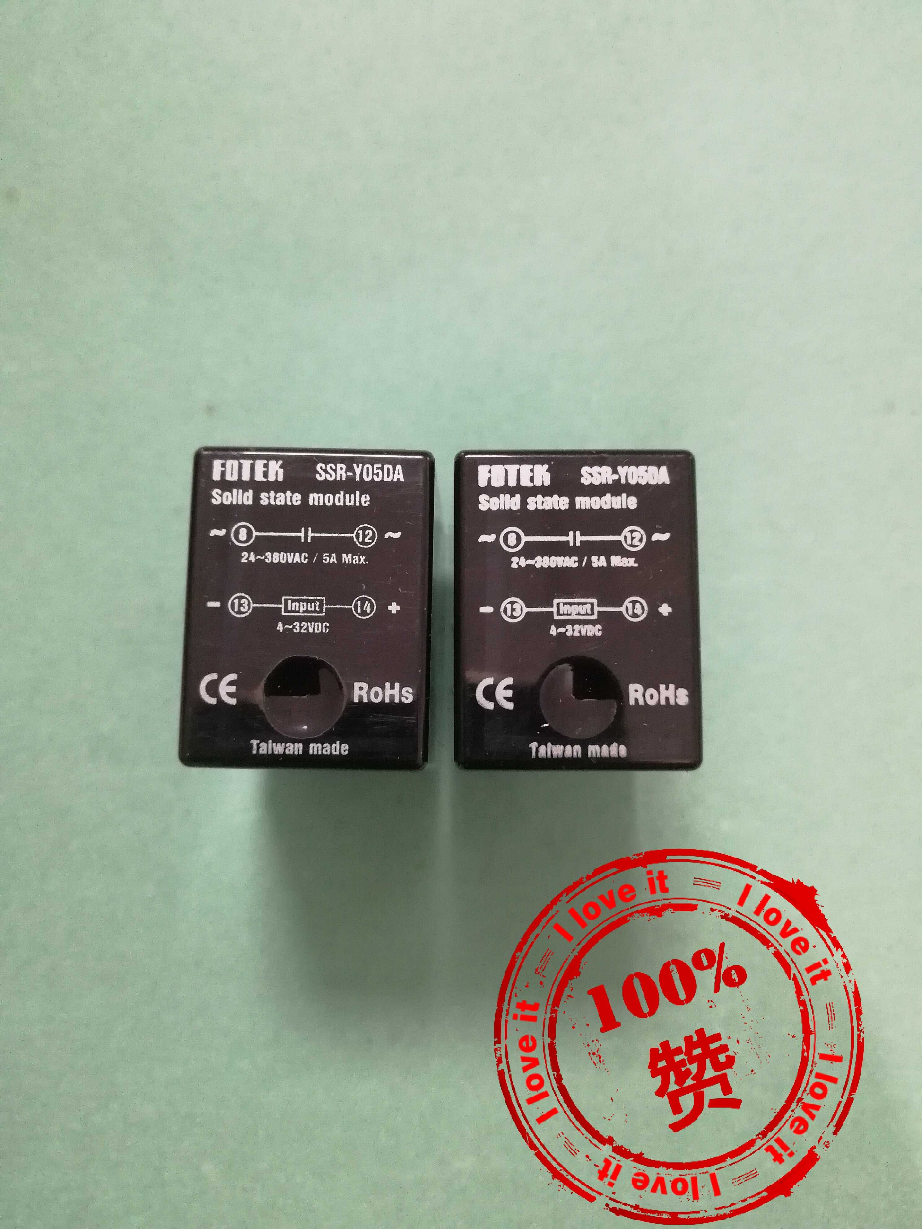 100% Original Imported Ssr Solid State Relay SSR-Y05DA DC Control 5A