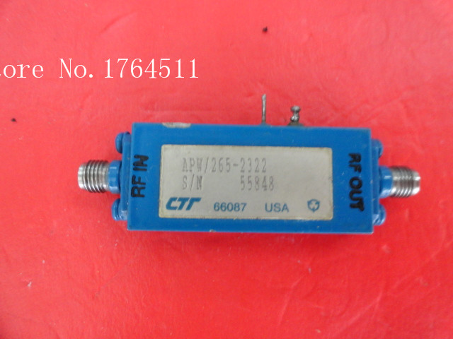 [BELLA] CTT APW/265-2322 18-26.5GHZ 24DB 12V Supply Amplifier SMA