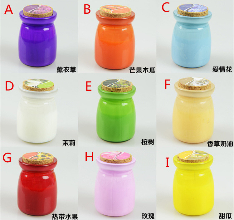New Arrival mosquitos Insect Repellents scented candles decorative glass candle jars Citronella Tealight Candles home decor 2