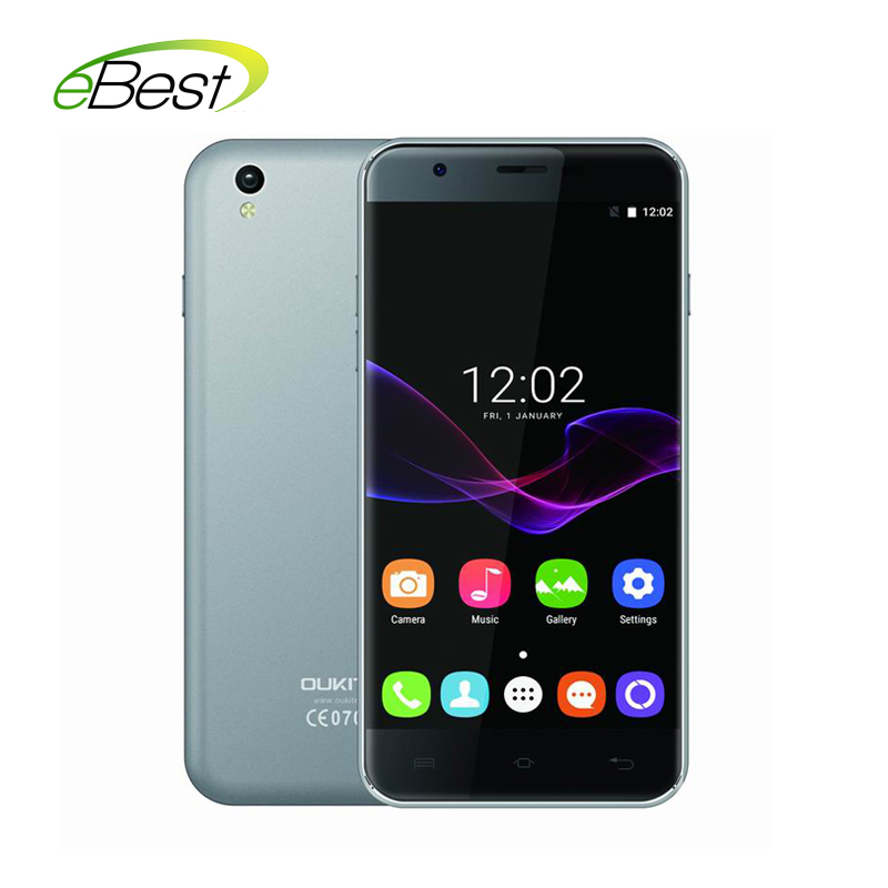 Цена за Новый oukitel u7 макс мобильный телефон 5.5 ''экран hd mtk6580a quad Core 1 Г RAM 8 Г ROM 8MP Камера Android 6.0 3 Г WCDMA смартфон