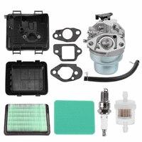 Pro Carburetor+Air Filter Cover+Fuel Filter For HONDA GCV135 GCV160 GCV190 Sale