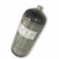 Ac3120 cilindro de gás tanque paintball 12l 4500 psi cilindro de fibra carbono composto para airsoft airforce condor acecare
