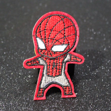 Pulaqi The Avengers Patches Iron-on Patches for Clothing DIY Applique StripesSpider-man Garment Accessory to Clothes Badges F(China)