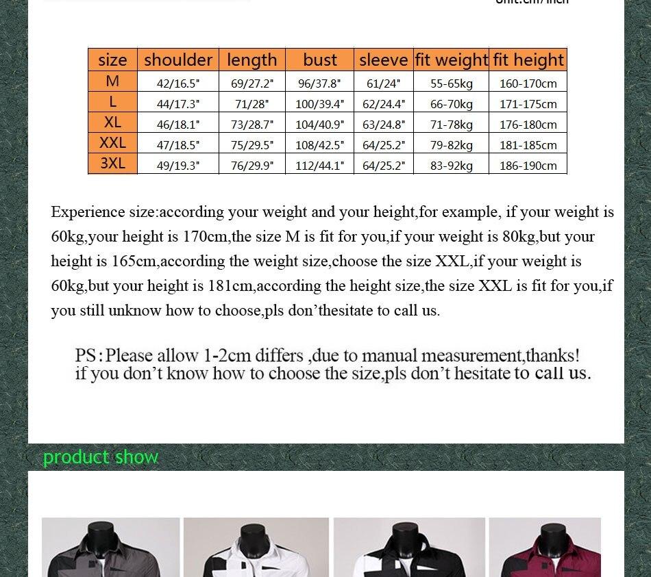 2020 Spring Autumn Mens irregular patchwork long sleeve Casual Shirts Army Green/Black/Red/White/Grey camisa masculina shirt Men
