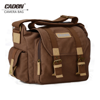 Caden vintage Camera Bag Shoulder Protective Cases DSLR Photo bags for Canon Nikon Sony Pentax canvas sling camera bag