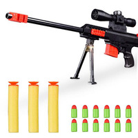 Bullet Toy Gun Safe Sniper Rifle Airsoft Air Guns Plastic Blaster Military Toys Model For Gifts Children Outdoor Game Cosplay