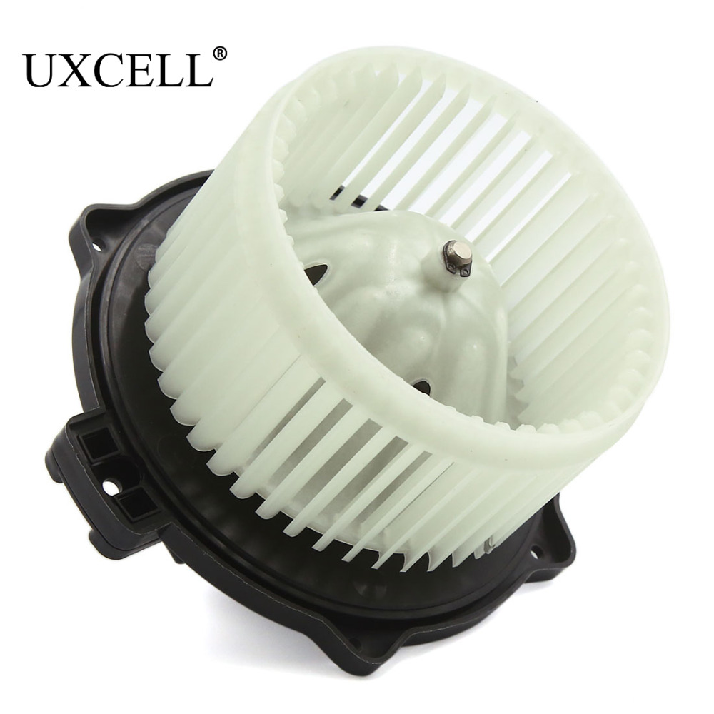 uxcell front heater hvac car blower motor assembly w fan. Black Bedroom Furniture Sets. Home Design Ideas