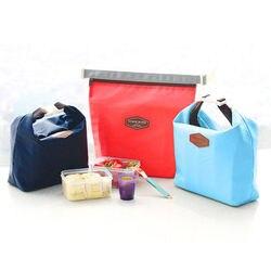 Wasserdicht Thermische Kühler Isolierte Mittagessen Taschen Tragbare Tote Lagerung Picknick Taschen Schule Büro Lebensmittel Mittagessen Taschen