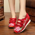 embroidered women's shoe girl double color rubber Dichotomanthes end Travel casual shoes